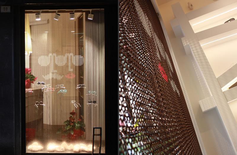Progetto negozio di Ottica Montevecchio Fano