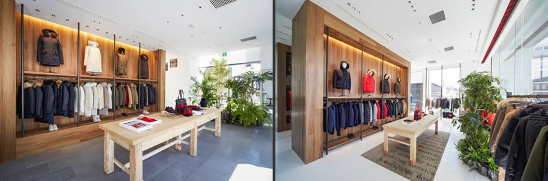 woolrich flagship store tokyo ayoama