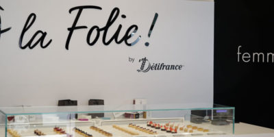 Il temporary store À LA FOLIE selezionato da ADI Design Index per il Compasso d'oro