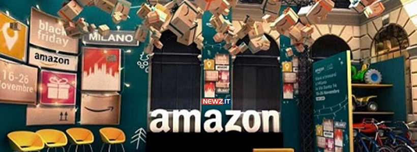Apre l'Amazon loft for Xmas, il primo pop-up store di Amazon in Italia.