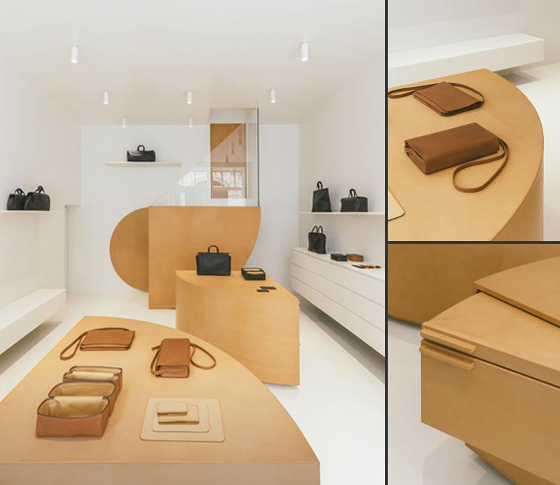 store design Isaac Reina Paris by Bernard Dubois