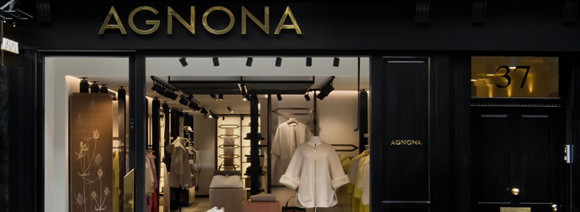 AGNONA Boutique in London.