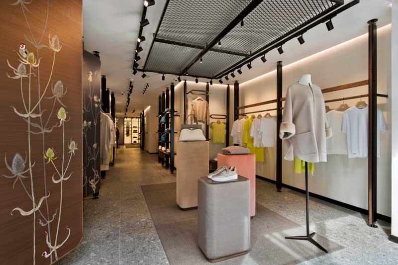 Agnona store London new design concept