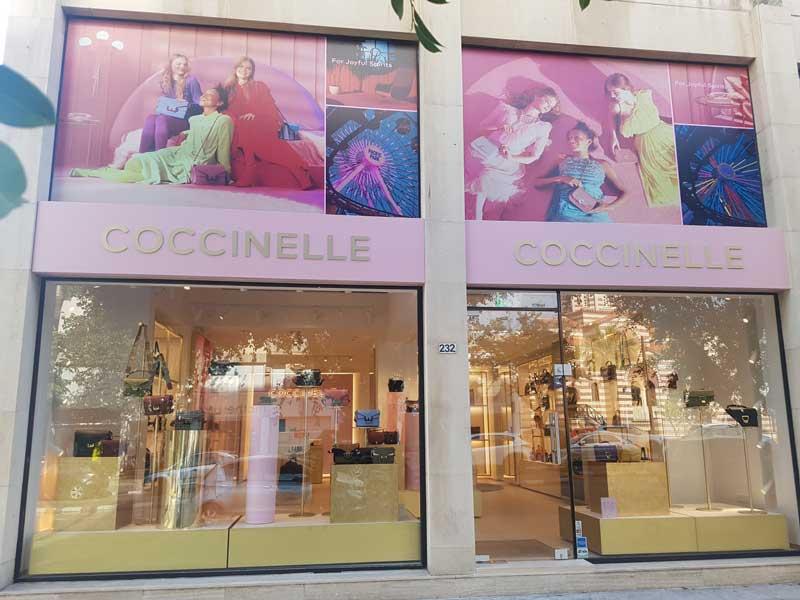 COCCINELLE apre un nuovo store a Limassol Cipro