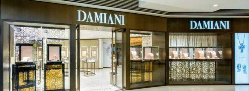 DAMIANI: nuova boutique monomarca a Hong Kong.