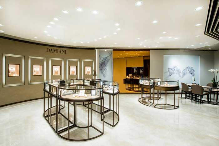 DAMIANI nuova boutique monomarca Hong Kong