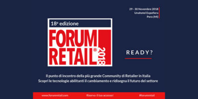 FORUM RETAIL 2018: a due settimane dall'evento IKN Italy annuncia importanti novità.