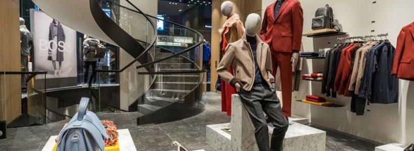 HUGO BOSS riapre, completamente ristrutturata, la boutique di Milano.