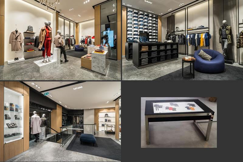 boutique Hugo Boss di Milano