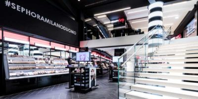 The new SEPHORA Concept Store in Milan.