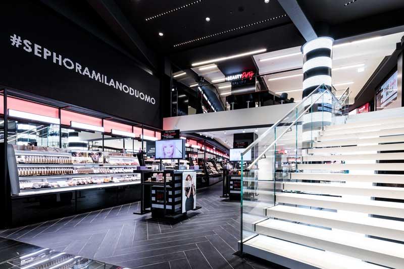 Il nuovo concept store di SEPHORA Milano Duomo