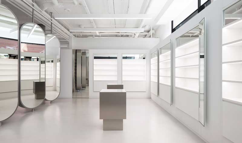 Batek Architekten Zalando beauty store design