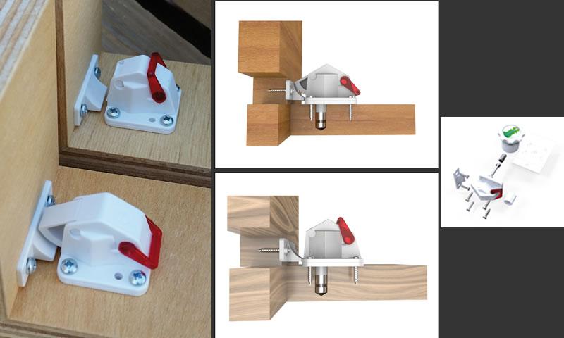 KINDER-LOK la serratura magnetica invisibile