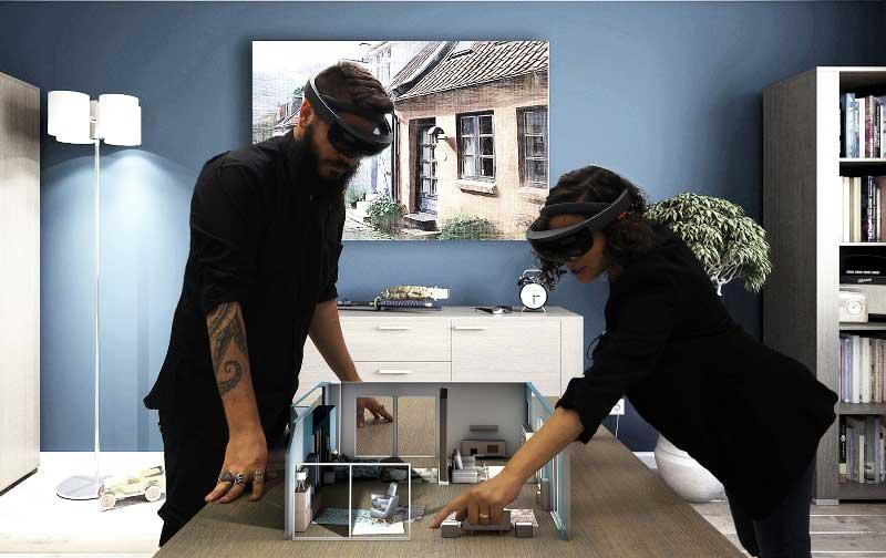 arredare attraverso la realtà virtuale e aumentata