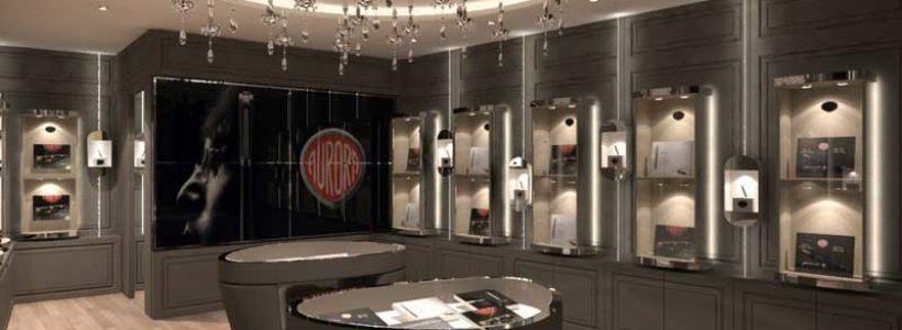 PENNE AURORA apre a Roma la prima boutique monomarca in Italia.