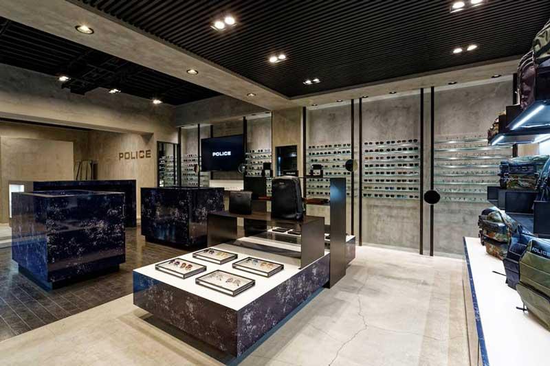 concept store Police di Tokyo