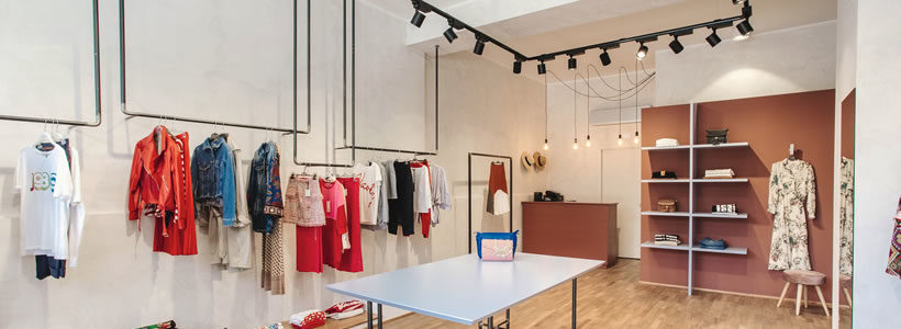 SILVIO GIROLAMO progetta la boutique Marygiò.