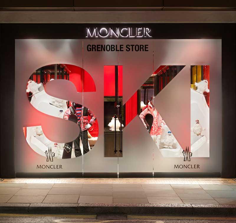 Il concept creativo del temporary store Moncler di Londra