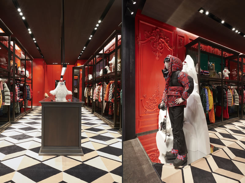 Temporary Store Moncler Londra