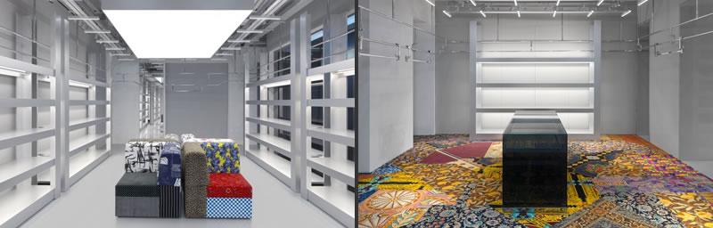 BALENCIAGA nuova boutique in Via Montenapoleone a Milano
