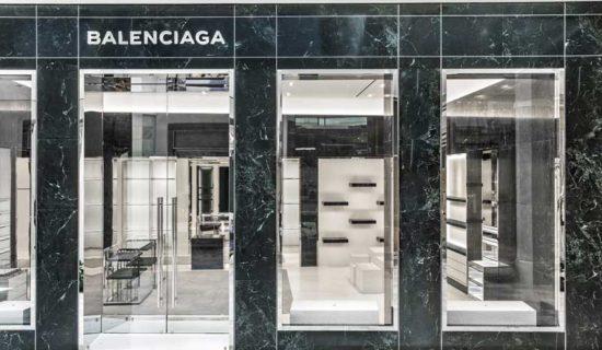 BALENCIAGA: nuova location in Via Montenapoleone a Milano.