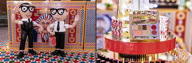 Vetrine Natale Dolce Gabbana Rinascente