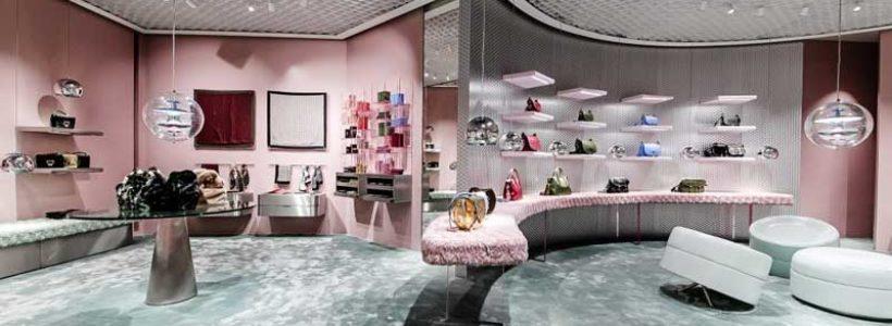 COCCINELLE inaugura un flagship store in corso Vittorio Emanuele a MIlano.