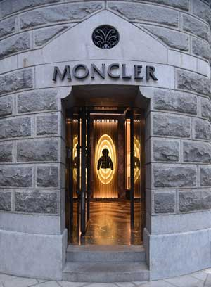 Moncler installations