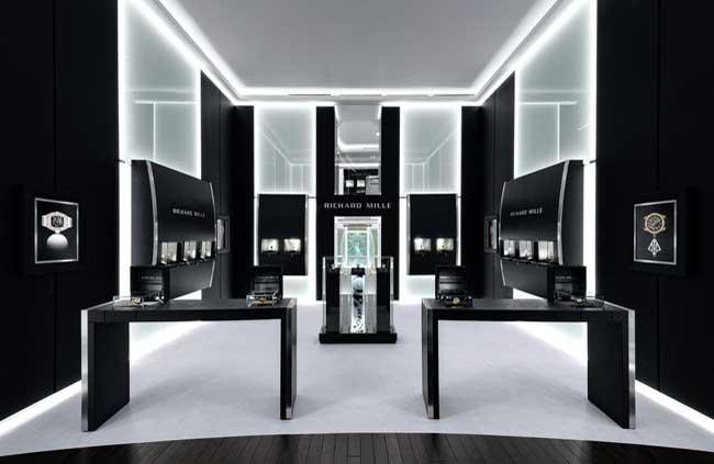 la boutique Richard Mille di Mosca