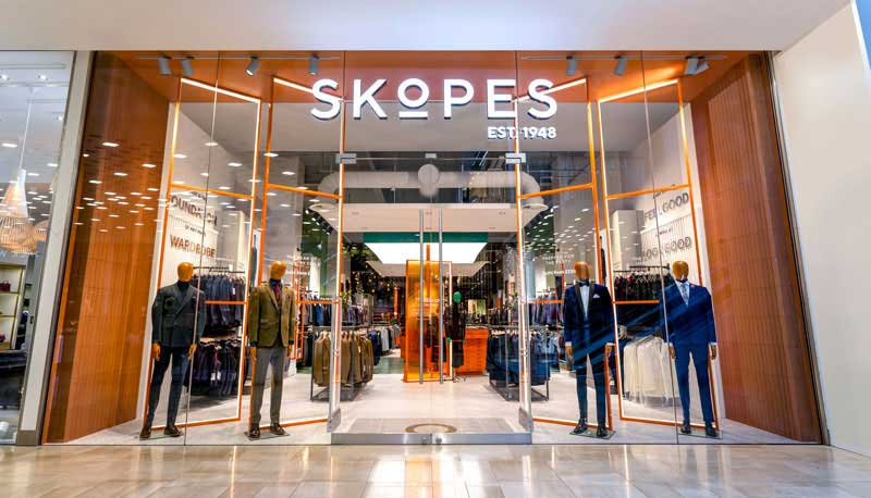 Skopes new identity and flagship store