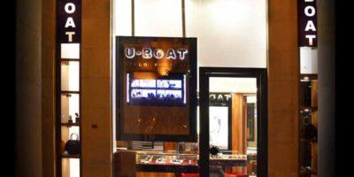 U-BOAT: una boutique nel centro finanziario di Beirut.