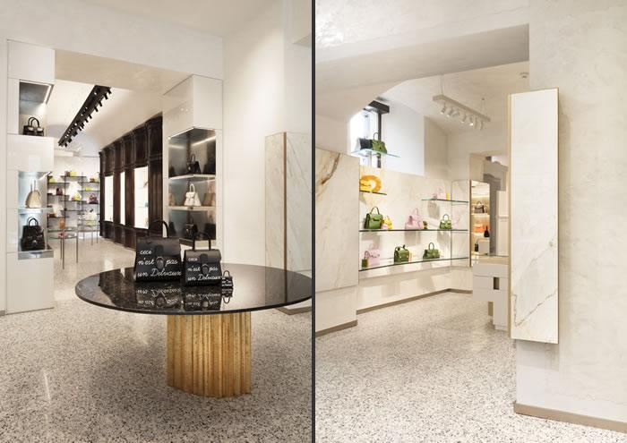 Vudafieri-Saverino Partners progetta la prima boutique italiana di Delvaux