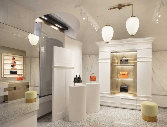Delvaux opens its first flagship in Milan signed by Vudafieri-Saverino Partners