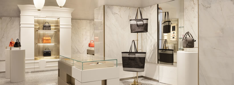 Delvaux opens its first flagship in Milan signed by Vudafieri-Saverino Partners.