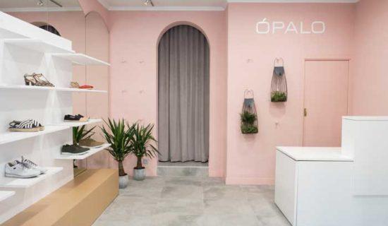 Lo Studio di architettura ALAPAR reinterpreta la boutique ÓPALO di Tafalla.