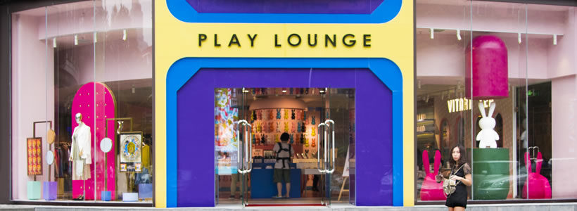 PLAY LOUNGE Concept Store, Pechino.