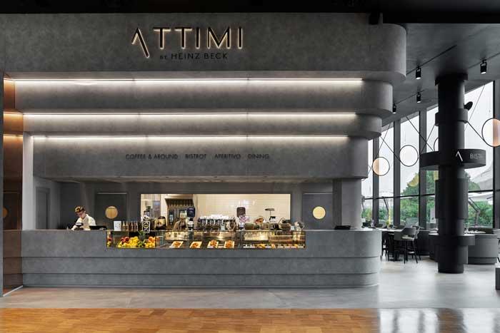 Fabio Novembre sceglie HI-MACS® per il progetto del ristorante di Heinz Beck, a City Life
