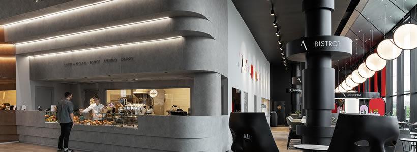 Fabio Novembre sceglie HI-MACS® per il progetto del nuovo ristorante di Heinz Beck, a City Life.