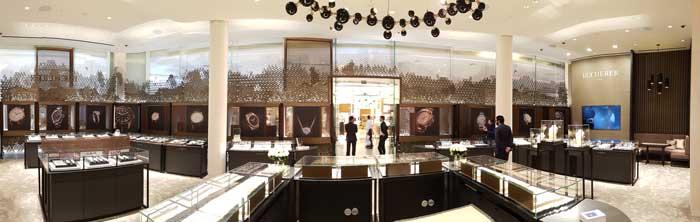Bucherer multi brand boutique designed by Dobas AG