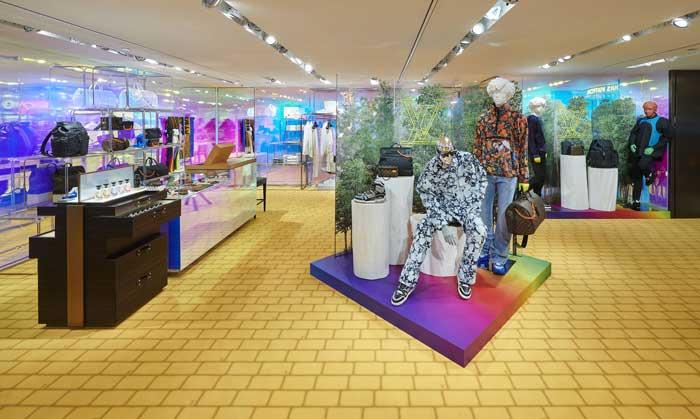 Louis Vuitton un concept inedito per il pop up store presso Rinascente Milano Piazza Duomo