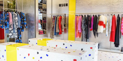 Msgm chooses Budri for its boutique in London