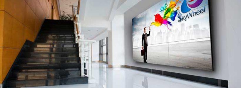 NEC lancia una gamma di nuovi straordinari video wall.