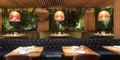 Persevera Producciones designed the interiors of Seis Restaurant in Sevilla.