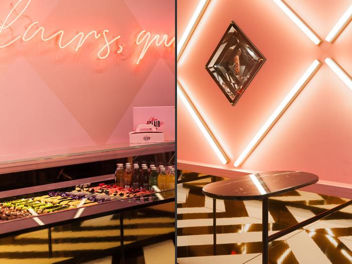interior design Chez Claire Pastry Shop Antwerp