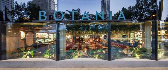 Proyecto Singular interior design ristorante Botania Madrid