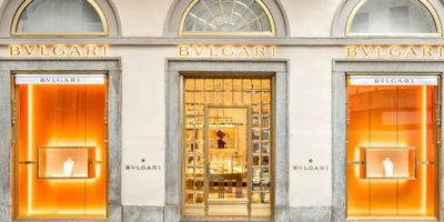 Bulgari reopens its Milan boutique at Via Montenapoleone 2, after a complete renovation.