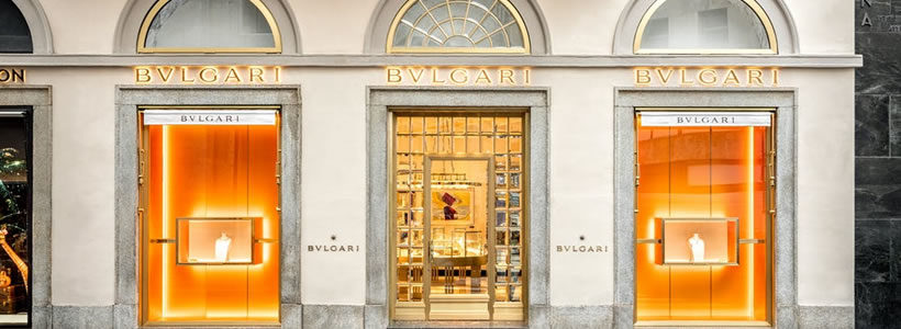 Boutique BULGARI Milano.