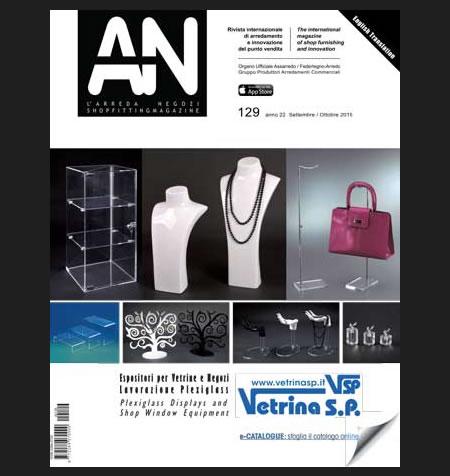 AN shopfitting magazine no 129