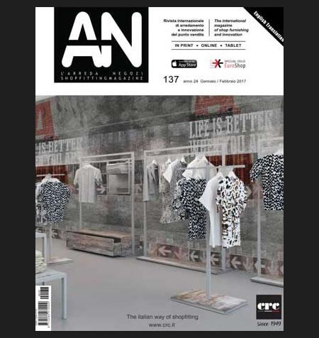 AN shopfitting magazine no 137