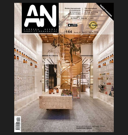 AN shopfitting magazine no 144